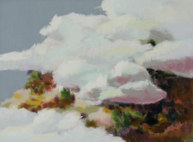 Tjark Ihmels, Kleine Landschaft, 2018, Öl auf Leinwand, 30 x 40 cm