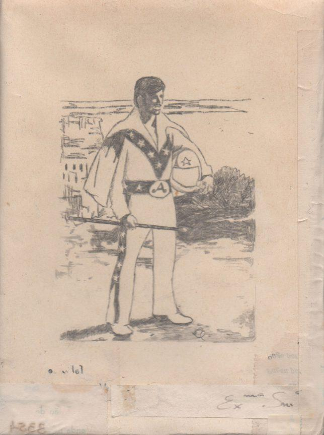 Jan Schmelcher, Halcion Days, 2019, Bleistift auf Papier, 18 x 13 cm