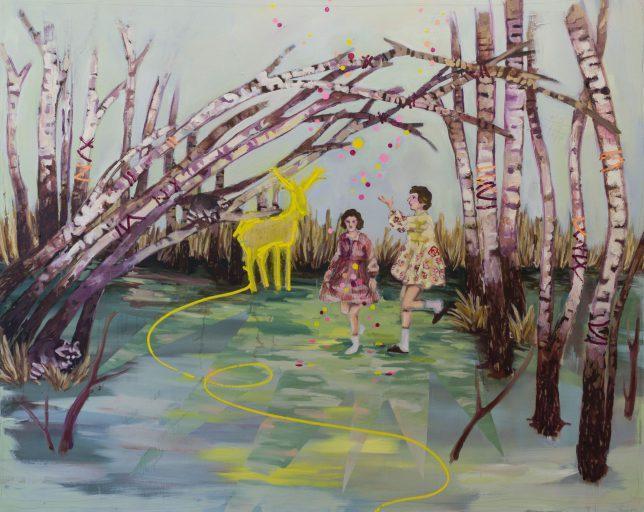 Ekaterina Leo, Lucid Dreaming, 2018, oil on canvas, 140 x 170 cm