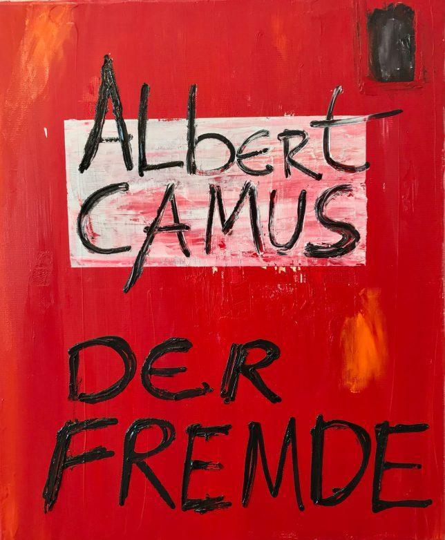 Philip Grözinger, Der Fremde, 2020, Oil on Canvas, 60 x 50 cm