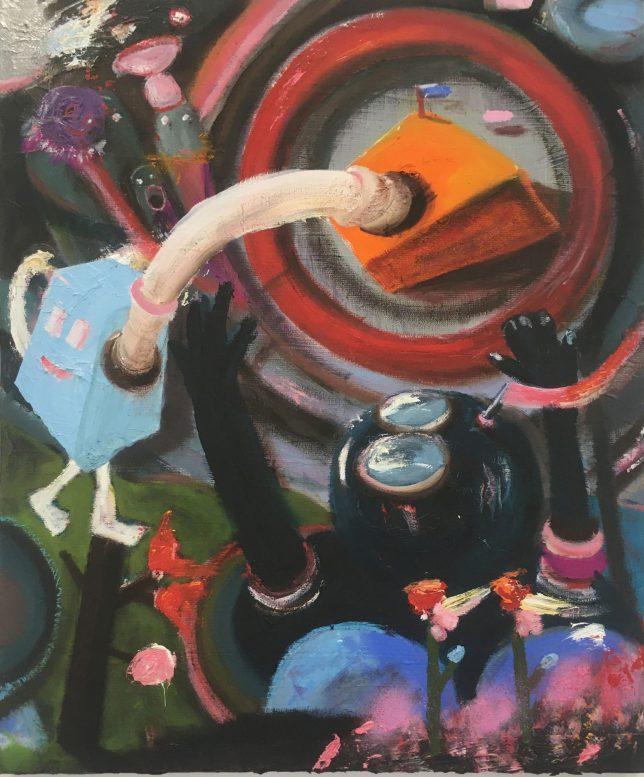Philip Grözinger, Knowing You, 2020, Oil on Canvas, 60 x 50 cm