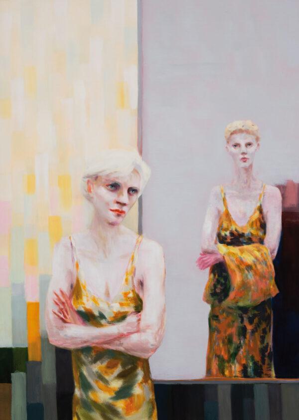 Tjark Ihmels, Das Licht entscheidet, 2020, Oil on Canvas, 140 x 100 cm