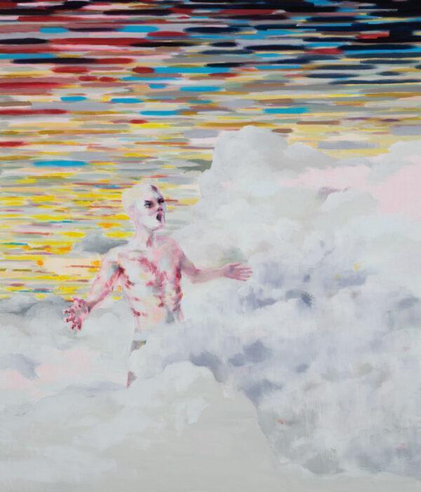 Tjark Ihmels, Der richtige Platz, 2020, Oil on Canvas, 140 x 120 cm