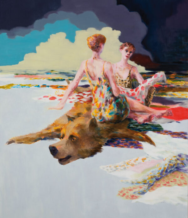 Tjark Ihmels, Stoff, 2020, Oil on Canvas, 140 x 120 cm