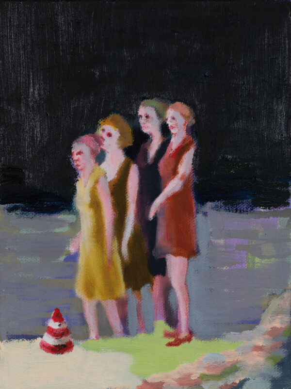 Tjark Ihmels, Sensation, 2020, Oil on Canvas, 23 x 18 cm