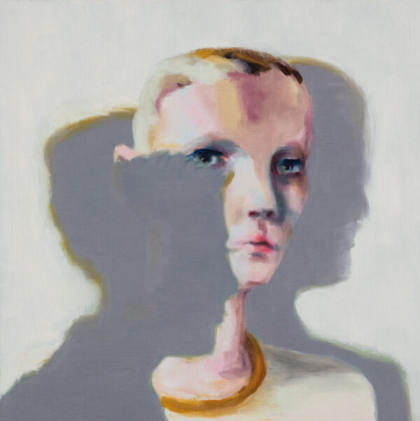 Tjark Ihmels, Zwischen den Schatten, 2020, Oil on Canvas, 50 x 50 cm
