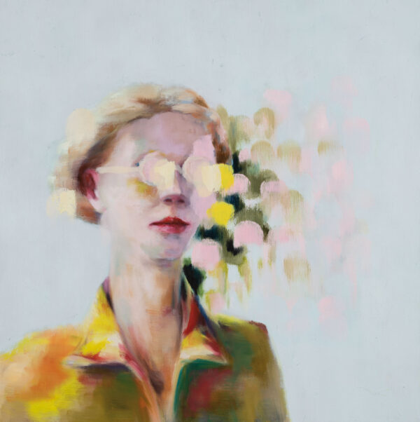 Tjark Ihmels, Was wir sehen, 2020, Oil on Canvas, 60 x 60 cm